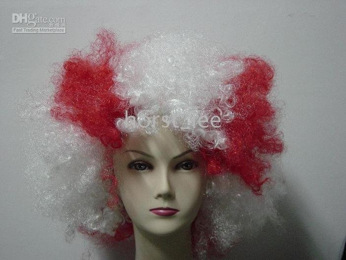 England Supports Wig,World Cup Football Sports Fans Mask Wigs Party