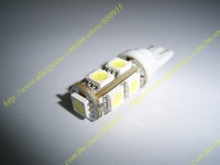 car led/auto led lamp/auto lamp/T10-9SMD,Free shipping