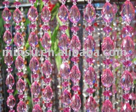 plastic bead door curtain waterfall China (Mainland) Home Decor