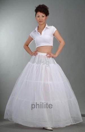 - Wedding Dress Crinoline/Prom Gown/Petticoat/Underskirt 3 hoops petticoat(China (Mainland))