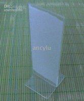 Clear Acrylic Frame Menu holder