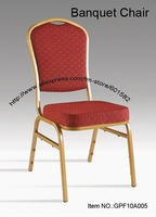 stacking chair for hotel and restaurant