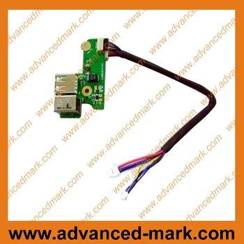 DV6000 DC Power Jack & USB Board P/N.: DAOAT8TB8F2 00817