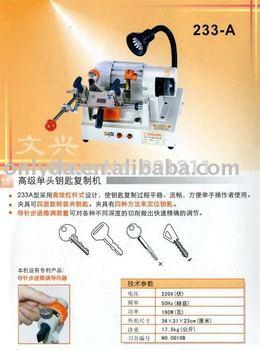 Guaranteed 100% origanl Wenxing key cutting machine(233A) High quality& free shipping