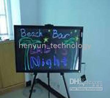Menu Sign Board 40*60cm LED Fluorescent Handwriting illuminated(China (Mainland))