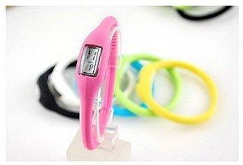 100pc/lot Anion negative Wrist Bracelet Silicone Watch Fashion Watch Sports Watch