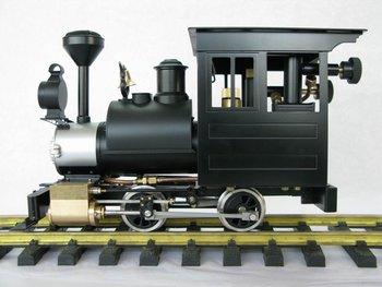G Gauge Brass Made Live Steam Locomotive Model - USA Porter ( Retailing & Delivered Free )