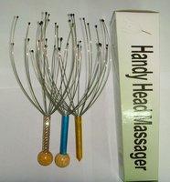 Stainless steel scalp handy head massager