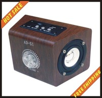 Free shipping--High quality and free shipping mini speaker system for cell phone computer MP3 MP4 player psp etc