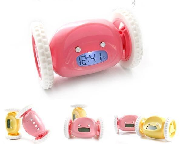 Novelty Products:Digital Clock Run Away Alarm Clock.Free shipping(China (Mainland))