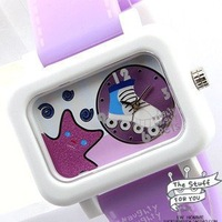 wholesale fashion watches/Free shipp Wrist Watch Naughty pets No 6 Fashion 2010 spring