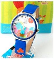 wholesale fashion watches/Free shipp Wrist Watch Naughty pets No 24 Fashion 2010 spring
