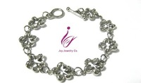 Stainless Steel Link Woman fashion jewelry Pendant Bracelet Necklace earring