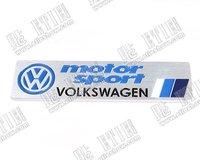 VW motor sport Aluminum Car logo sticker\3d car logo sticker\Guaranteed 100%\Stereo feeling\customize\League\