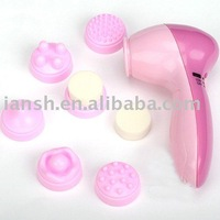 Free Shipping ! 6 In 1  Full Body Facial Cleaner Skin Massager Face Massager
