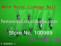 F00805      F-H50094-1 Main Rotor Linkage Ball for  T-REX Trex 500 Rc Helicopter  + Free shipping