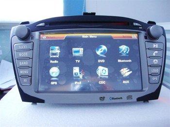 hyundai ix35 car dvd player with gps navigaiton radio system