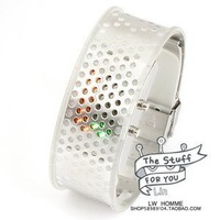 wholesale fashion watches/Free shipping for EMS Wrist Watch LED WATCH No 25Fashion 2010 spring