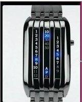 wholesale watches/Free shipp Wrist Watch LED WATCH Fashion 2010 spring