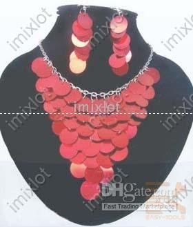 pearl necklace! handmade jewelry sets! stylish beaded earring! party jewelry! 2010 fashion wedding(China (Mainland))