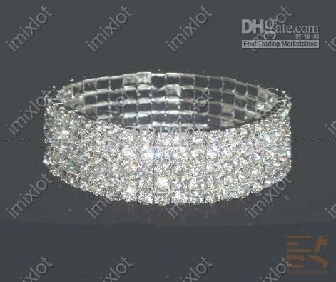 simulated diamond bracelet! jewelry bracelets! stylish tennis! 2010 fashion wedding(China (Mainland))