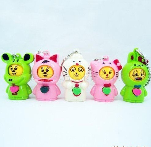 Wholesale Novel Face Changing Doll Figure Toys Cartoon Key Chains Face Change Cellphone Pendant Phone Chains new toys(China (Mainland))