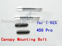 F00248,    1 pair F-H45052 Canopy Mounting Bolt for ALIGN T-REX TREX 450 PRO+ Free shipping
