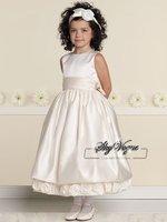 Free Shipping!JC019*Pink Satin Sash Girls' Gown Flower Girl's Dress