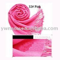 Women's Soft Pashmina Scarf Wrap Shawl Scarves 40 Plain Colors, Free Shipping