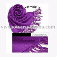 10pieces/lot Soft Women's Pashmina Scarf Wrap Shawl Scarves 40 Plain Colors, Free Shipping