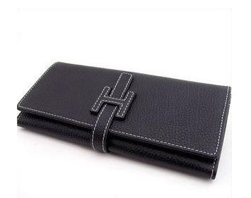 Free shipping -- hot selling men's women's wallet wallets purse notecase checkbook with box H6(China (Mainland))