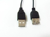 Free shipping  NEW USB 2.0 2FT 60CM USB MALE TO FEMALE EXTENSION CABLE Adapter Connecter Cord FOR PC