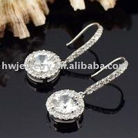 21647 silver earring fashion