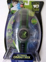 Free Shipping +6pcs New BEN 10 ALIEN FORCE ULTIMATE OMNITRIX Lights-n-Sound