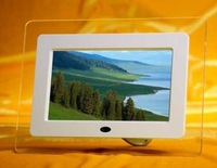 7 inch multi-functional digital photo frame/New/Guaranteed100%/ Gift&Free Shipping
