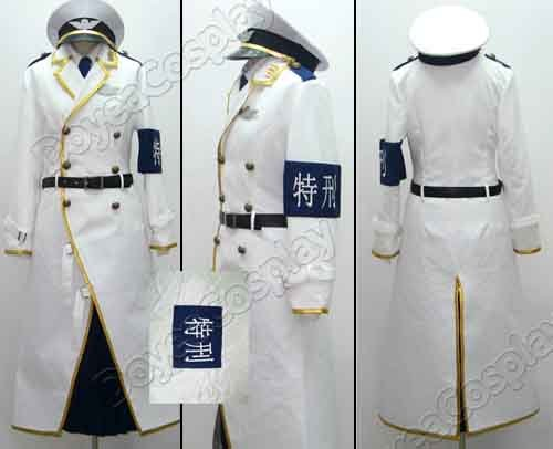DOLLS Second unit Special uniform punishment New white Cosplay Costume(China (Mainland))