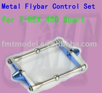 F00319 1 set Metal Flybar Control Set as H45081 for TREX 450 Sport RC Helicopter + Free shipping