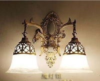 Free shipping Hot Selling 2 Light European style wall lamp .Fixture