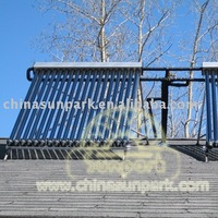 250 degree&Heat Pipe solar collector water heater