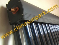HP&20 tubes split solar collector