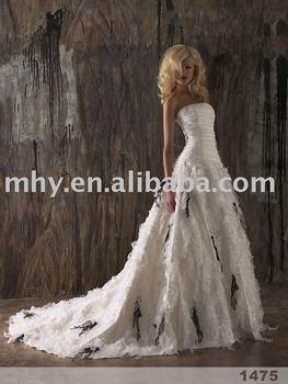 Model organza wedding dresses,special bridal wedding gowns accept    DT130