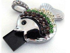4GB Jewelry Fish USB Flash Drive