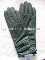 New Long Design 100% Lamp-skin Leather Glove