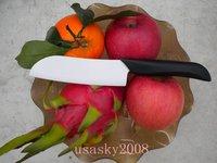 "Wholesale Japanese White 4.8"" Blade Zirconia Ceramic Chef's Knife"