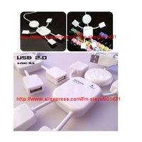 Free shipping by China Post. USB2.0 4 Port Hub, 4 Port USB Hub