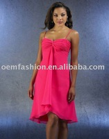 New Arrival Short bridesmaid dresses/bridesmaid gown HL-BM179