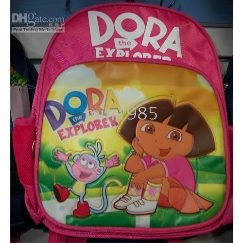 frete grátis Dora the Explorer pouco Bolsa Escola Mochilas B0154(China (Mainland))