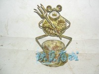 Iron crafts decoration garden decoration Frog decoration