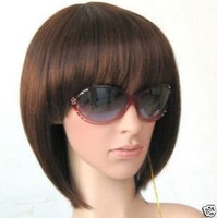 2013 new womenS  BROWN  hairpiece/periwig/wig top quailty,FREE SHIPPING WHOLESALE PRICE