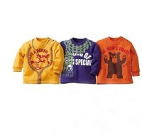 children clothes long sleeve shirt -G(China (Mainland))